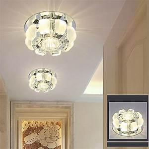 Clear Pendant Lights Modern 5w 3w Led Crystal Ceiling Light Fixtures Living