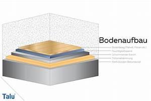 Estrichaufbau Mit Fußbodenheizung : fu bodenaufbau im detail bodenaufbau kosten co ~ Michelbontemps.com Haus und Dekorationen