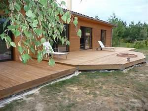 La Terrasse En Images Construire Sa Terrasse En Bois Sur
