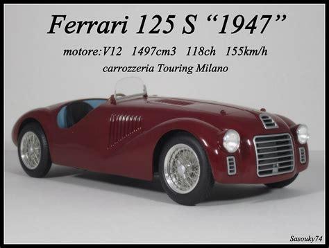 Ferrari rare miniatures in big parts legende-miniatures ...