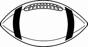 Best Football Outline #8594 - Clipartion.com