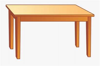 Desk Cartoon Table Background Transparent Clipart Clipartkey