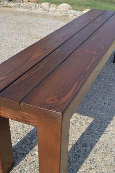 simple outdoor wooden bench plans  diy patio furniture