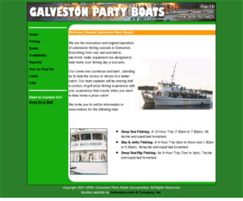 Galveston Party Boats Charters by Galvestonpartyboatsinc Galveston Party Boats Inc