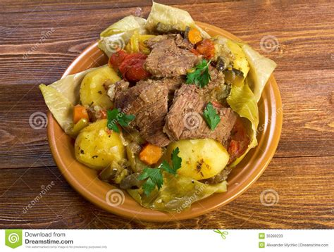 cuisine basma basma stew stock photos image 35399233