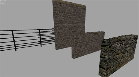 wall ls for stone wall and fence pack 187 gamesmods net fs17 cnc fs15 ets 2 mods