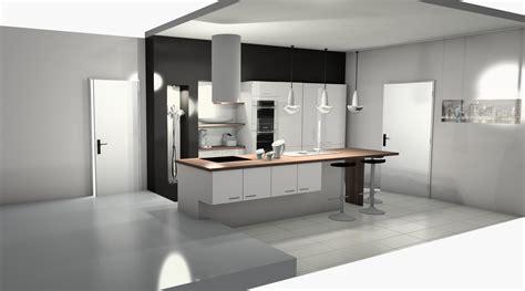 tabouret cuisine alinea meuble cuisine aménagée cuisine en image