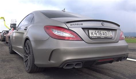 Brabus Mercedes Cls 850 In Heavy Action