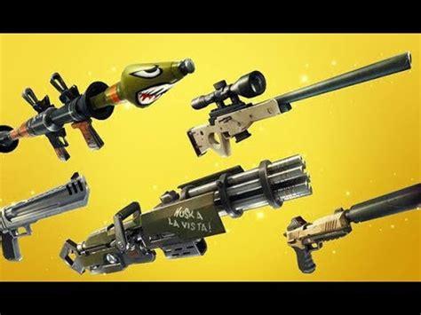 legendary guns   fortnite battle royale double