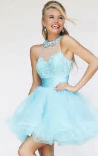 wedding dresses high 2015 light blue lace tulle halter prom dress uk