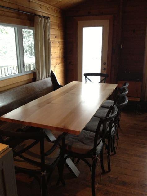 live edge tables toronto ontario slab table traditional