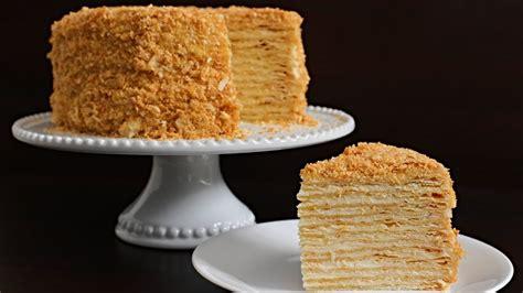 I'm on the verge of death! Napoleon Cake Recipe | Russian Torte Napoleon | Recipes Videos