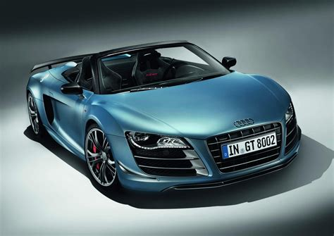 Audi R8 Gt Convertible Making Its North American Debut In