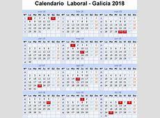 Calendario Laboral 2018 Galicia y son 15 festivos