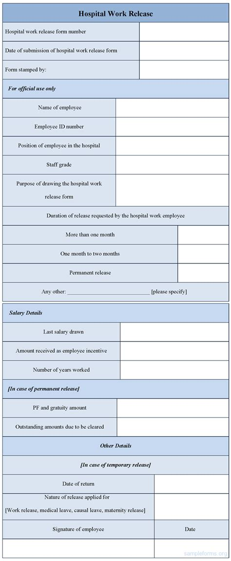 Hospital Work Release Form  Sample Forms. Nicu Nurse Resume Sample Template. Truck Driver Cover Letter Sample Template. Office Administration Resume Templates. Moving List Template. Mustache Baby Shower Invitations Template. Word Birthday Invitation Templates. Table Of Contents Design Ideas. Gantt Chart Google Docs