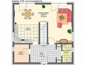 Haus Bauen Mit Gerader Treppe