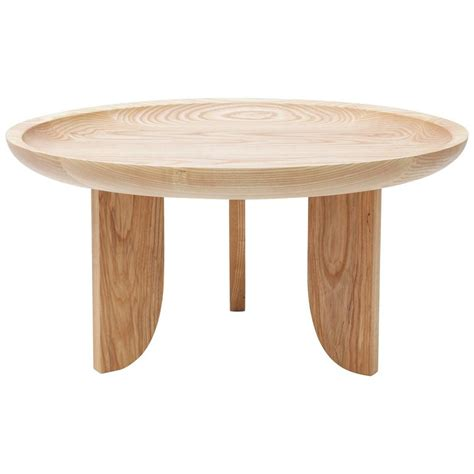 real wood coffee and end tables dish solid wood contemporary sculptural carved side coffee