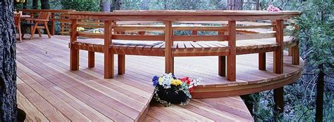 Redwood Composite Decking