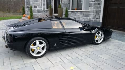 It was acquired by the selling dealer from its second. 1992 Ferrari 512 TR - Black on Tan — luxury vehicle For ...