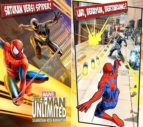 game spider man unlimited apk terbaru