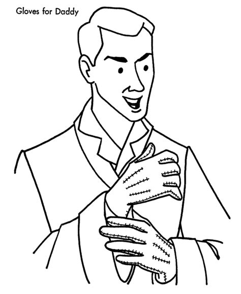dad coloring pages    print
