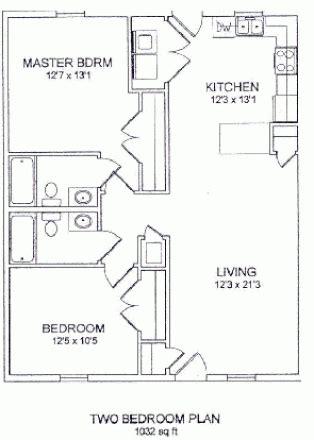 floor plans ecu east carolina university off cus housing search south haven 2 bedrooms 2br 2ba 610