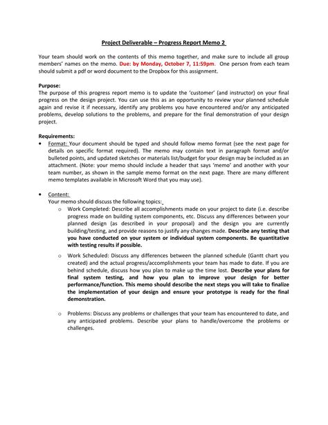 How To Prepare Progress Report How To Write A Weekly
