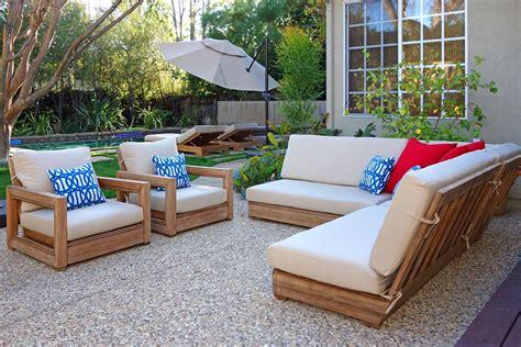teak patio furniture outdoor indoor los angeles iksun