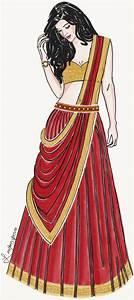 Fashion illustration_ India Fashion | Lavanya P | Fashion ...