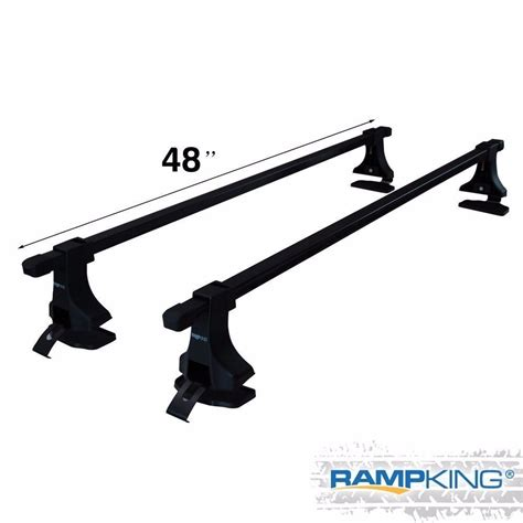 universal roof rack cross bars 48 quot car roof cross bars cargo carrier rack luggage pair