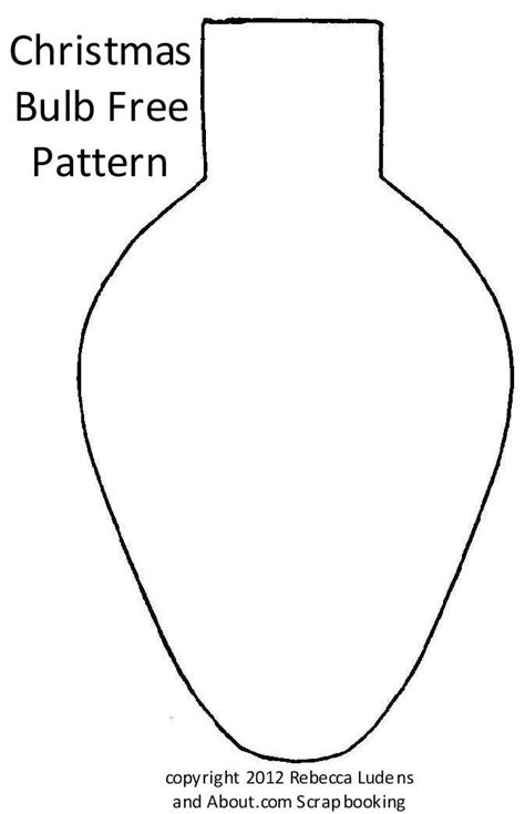 christmas light bulb template free christmas lights pattern coloring pages