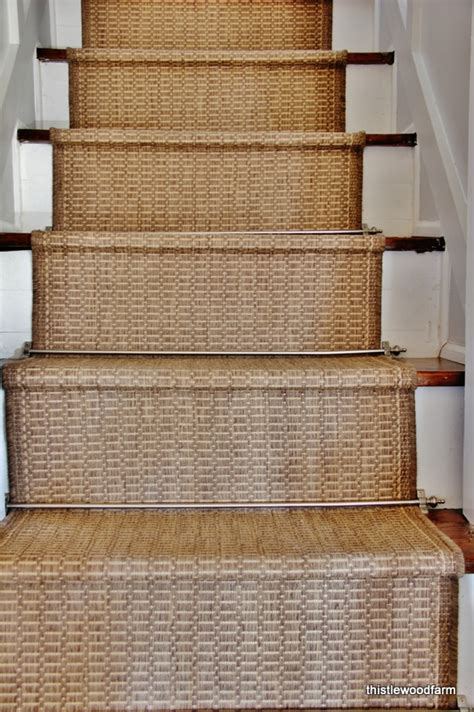 Hometalk   Inexpensive Option for a Stair Runner