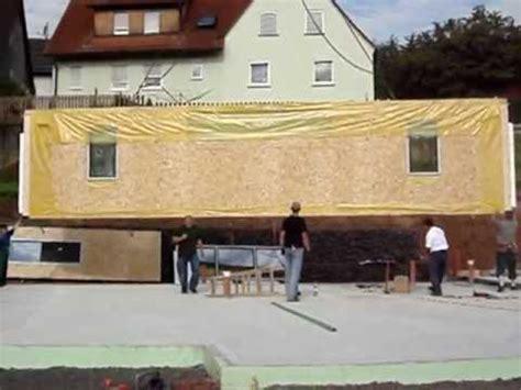 fertighaus aus polen fertighaeuser aufbau youtube