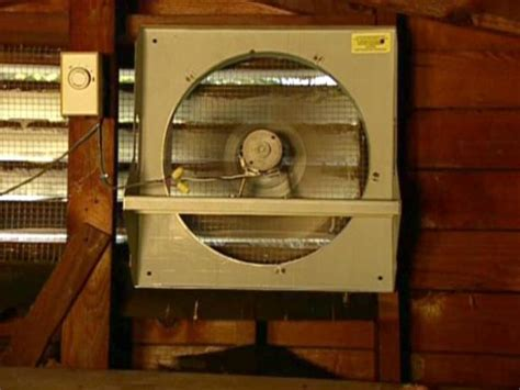 install  solar powered attic fan  tos diy