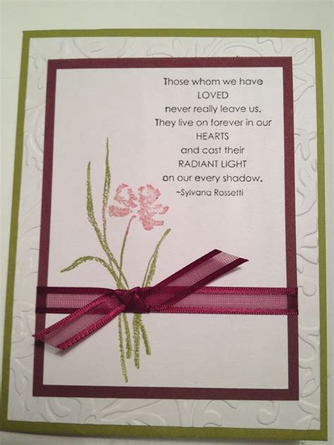You will also find them distributed at visitations, wakes, memorial services, and celebrations of life. 181 best images about Sympathy Cards on Pinterest | Sympathy cards, Card sentiments, Christmas ...