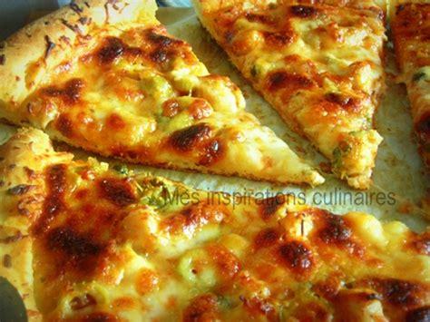 pizza 224 la p 226 te magique poulet et pesto le
