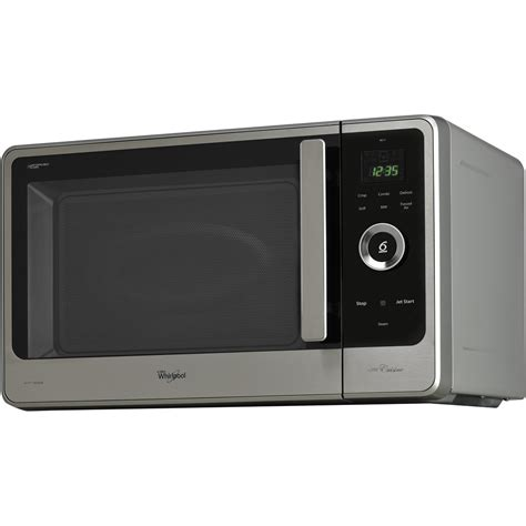 a cuisiner micro ondes posable whirlpool couleur inox jq 280 ix