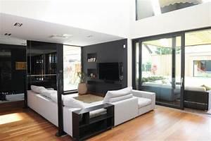 idees pour decorer une maison contemporaine noire With idee deco pour maison 7 photo interieur de maison contemporaine