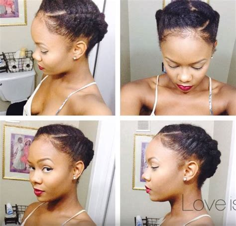 How to pull off 3 quick and easy hairstyles on your afro