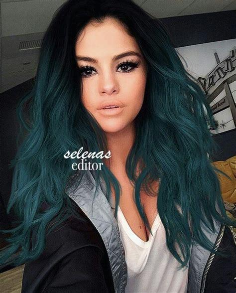 Colors For Black Hair by Best 25 Teal Hair Ideas On Teal Hair Color