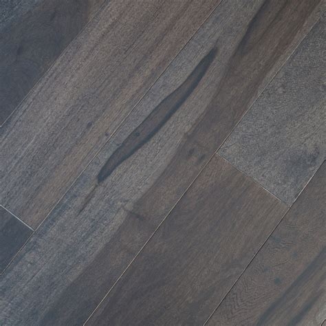 Macchiato Pecan Graphite Hardwood Flooring   Unique Wood