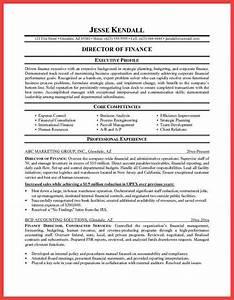 executive profile template memo example With executive profile resume