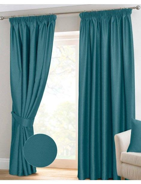 Teal Blackout Curtains 66x54 by 25 Best Ideas About Teal Pencil Pleat Curtains On