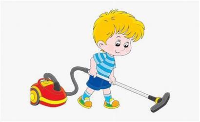 Vacuum Floor Clip Cartoon Trash Cleaner Netclipart