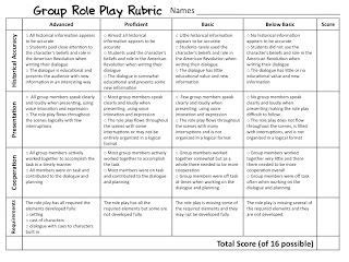 fourth grade flipper role play freebie outdoor game