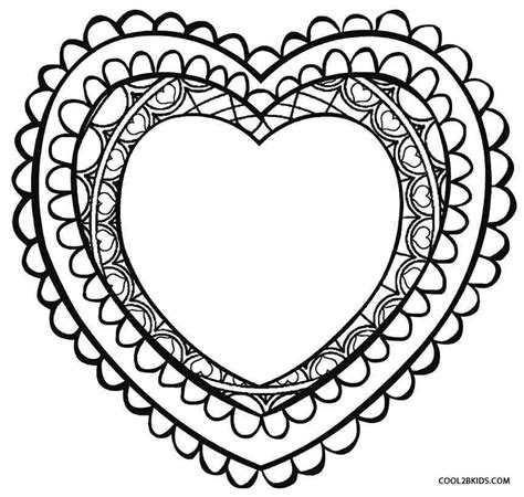 printable valentines day coloring pages printable coloring pages for cool2bkids