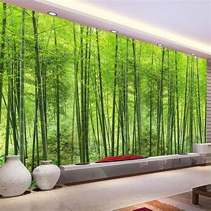 Aliexpress.com : Buy Custom Photo Wallpaper Bamboo Forest ...