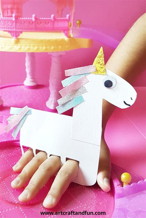 easy   finger puppet unicorn craft unicorn crafts