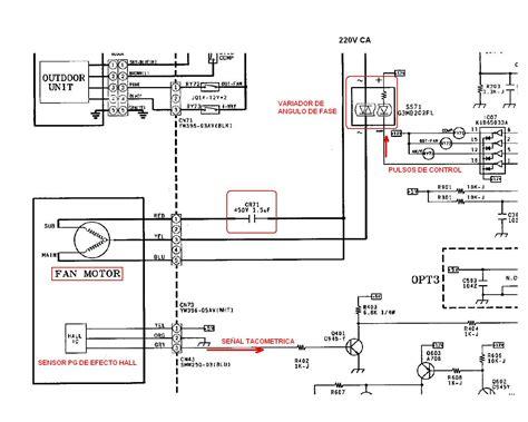 diagrama electrico aire acondicionado split lg aire acondicionado r a parte el 233 ctrica