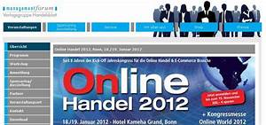 Online Handel Aufbauen : online handel 2012 bonn 18 19 januar 2012 finesites digital marketing news ~ Watch28wear.com Haus und Dekorationen